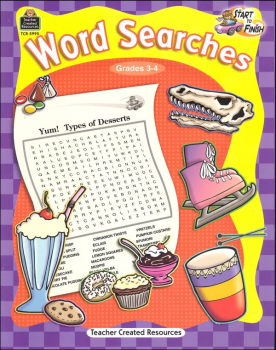 Word Searches Grades 3-4 (Start to Finish)