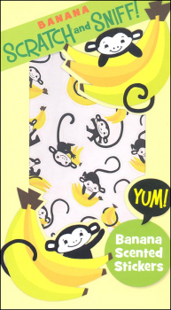 Banana Scratch & Sniff! Stickers