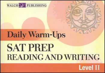 Daily Warm-Ups: SAT Prep-Rdg & Writing LII