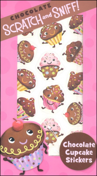 Chocolate Cupcake Scratch & Sniff! Stickers