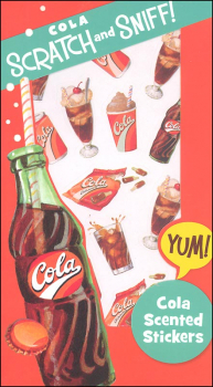 Cola Scratch & Sniff! Stickers