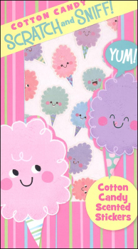 Cotton Candy Scratch & Sniff! Stickers