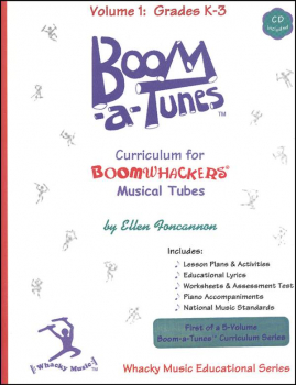 Boom-a-Tunes Curriculum, Vol.1 CD