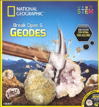 Break Open Real Geodes Starter (4 geodes)