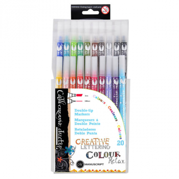 Callicreative Duotips 20 Marker Set