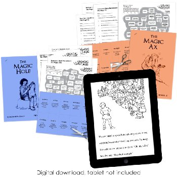 Magic Stories Book and Literacy Activities Set (download)