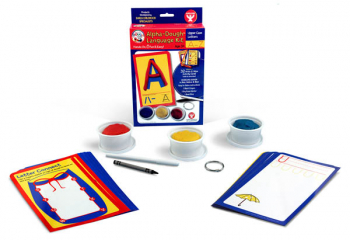 Alpha-Dough Language Kit Upper Case Letters