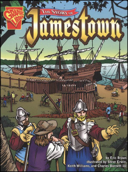 Story of Jamestown (Graphic Library)