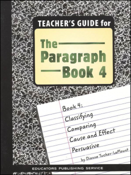 Paragraph Book 4 Teacher's Guide