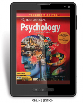 Psychology: Principles in Practice Online Teacher's Edition (1 year)