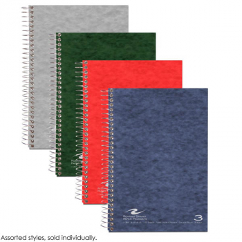 Three Subject Small Format Notebook - 120 Sheets