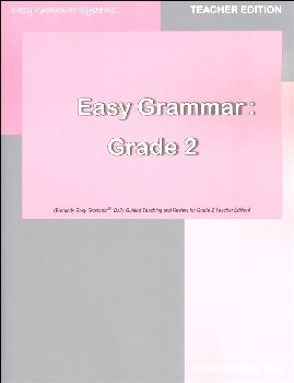 Easy Grammar Daily Guided Teaching and Review Grade 2