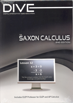 D.I.V.E. CD-ROM for Saxon Calculus 2nd Ed. Win/Mac