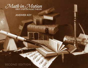Math in Motion Answer Key 2nd Edition