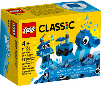 LEGO Classic Creative Blue Bricks (11006)