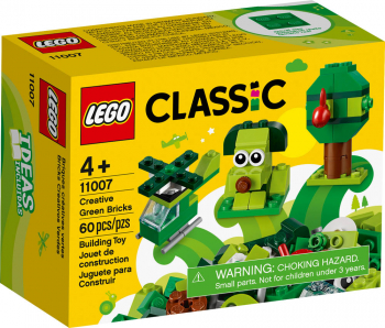 LEGO Classic Creative Green Bricks (11007)