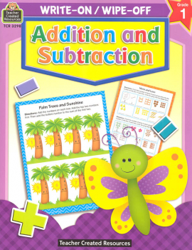 Write-On/Wipe-Off Addition and Subtraction