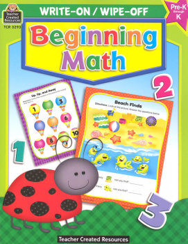 Write-On/Wipe-Off Beginning Math