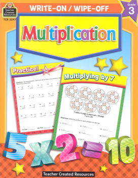 Write-On/Wipe-Off Multiplication