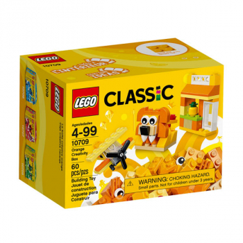 LEGO Classic Orange Creativity Box (10709)