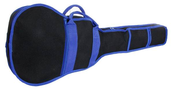 "Nylon 30"" Guitar Case (Black and Blue)"