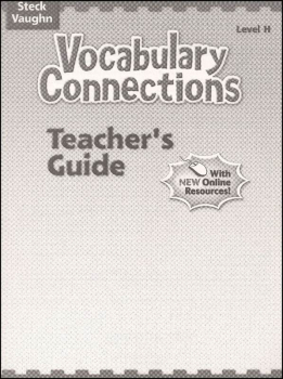 Vocabulary Connections - Level H Teacher Edition