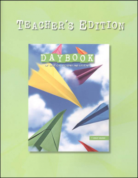 Daybook Critical Rdg and Writing Grade 3 Teacher (2008)