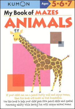 My Book of Mazes-Animal Mazes