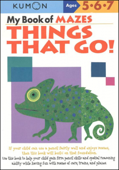 My Book of Mazes-Things That Go!