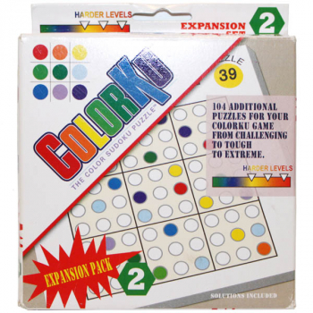 Colorku Expansion Pack - Advanced Puzzles