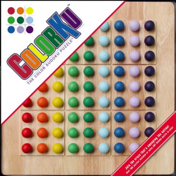Colorku Solid Wood Puzzle