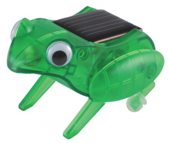 Happy Hopping Frog Mini Solar Robot Kit