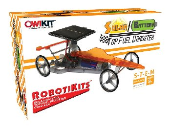 Super Solar Racing Car Mini Solar Robot Kit