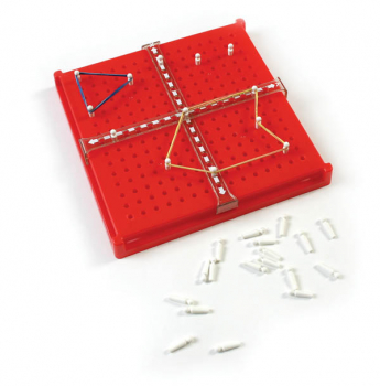 X-Y Axis Slide Board with 50 Pegs