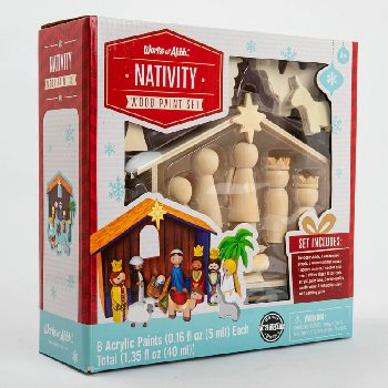 Nativity Paint Kit
