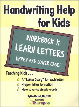 Learn Letters Workbook - Book K (HHK)