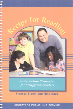 Recipe for Reading Teacher's Manual