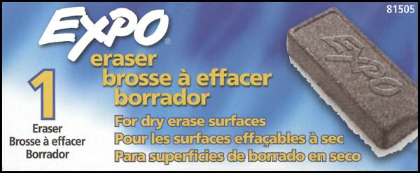 Expo Block Eraser
