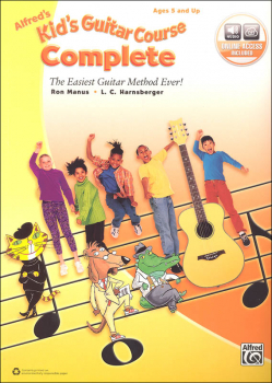 Alfred's Kid's Guitar Course Complete (Levels 1 & 2 Books & Enhanced CDs)
