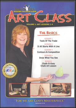 Art Class Volume 1 Lessons 1-4 on DVD