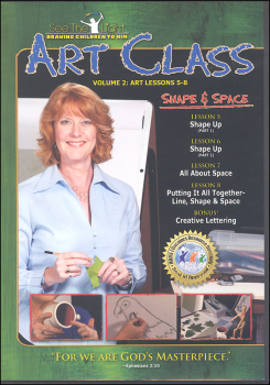 Art Class Volume 2 Lessons 5-8 on DVD