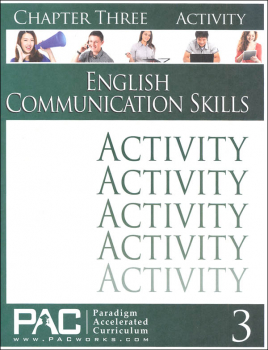 English Communication Skills: Chapter 3 Activities