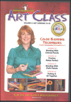 Art Class Volume 4 Lessons 13-16 on DVD