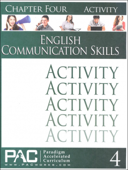 English Communication Skills: Chapter 4 Activities