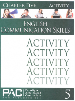 English Communication Skills: Chapter 5 Activities