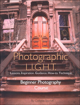 Photographic L.I.G.H.T. Beginner Photography Course (Text & Answer Key)