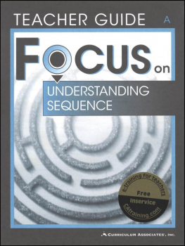 Understanding Sequence Bk A Tchr (Focus On)