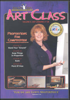 Art Class Volume 5 Lessons 17-20 on DVD