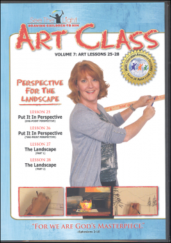 Art Class Volume 7 Lessons 25-28 on DVD