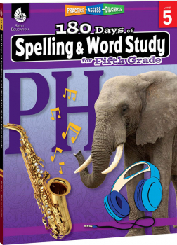 180 Days of Spelling & Word Study for Fifth Grade
